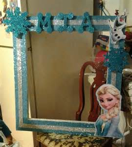Photo Booth Frame Photo Frame Booth Frozen Party Ideas Pinterest