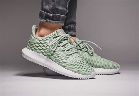 Sepatu Adidas Tubular Shadow 3d linen green drapes the adidas tubular shadow 3d