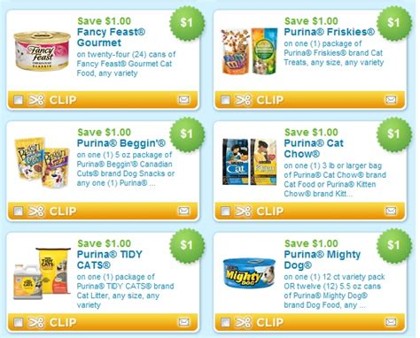 printable cat food coupons purina hot new printable pet food coupons ftm