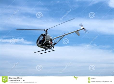 small passenger helicopter stock image image  hawk