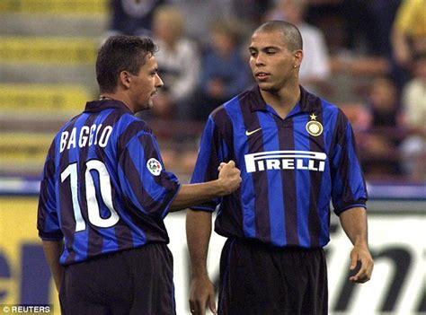ronaldo juventus 1998 lionel messi giggs and ronaldo make javier zanetti s chions league team but