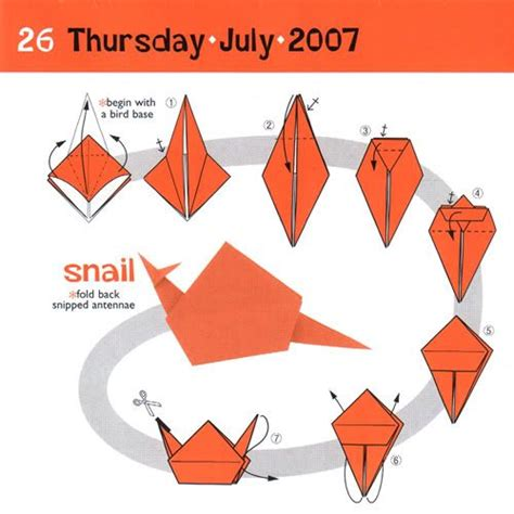 How To Make Origami Snail - 17 best images about origami on origami birds