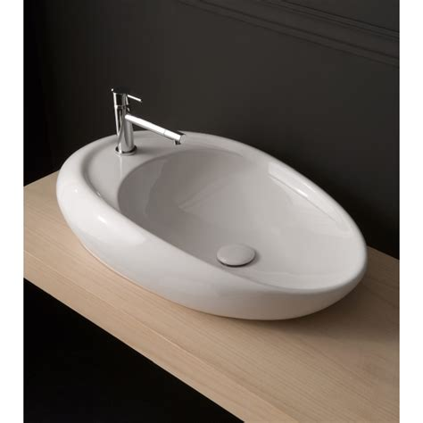 scarabeo bathroom sinks scarabeo 8602 bathroom sink moai nameek s