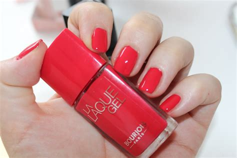 bourjois la laque gel review swatch reallyree