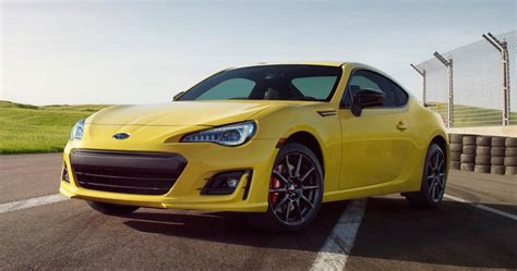 subaru no power 2017 subaru brz series yellow gets performance parts no