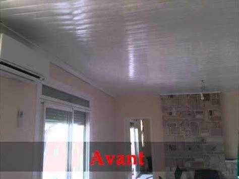 lambris plafond cuisine comment installer un plafond lambris pvc cuisine