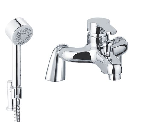 bath and shower mixer opal bath shower mixer with kit 15119m 163 156 00 just tap plus