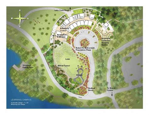 chicago botanic garden map botanic garden s new cus opening soon