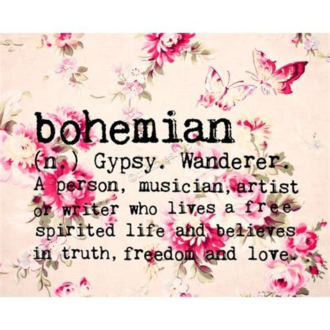 decor meaning bohemian quotes quotesgram