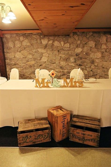 Best 25  Rustic head tables ideas on Pinterest