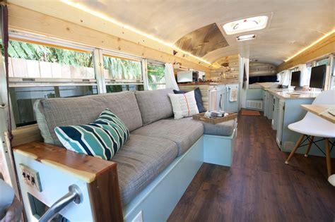 bus house school bus turned tiny house diy