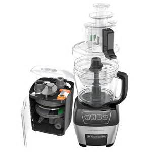 Professional Toasters Black Decker 11 Cup Performance Dicing Food Processor