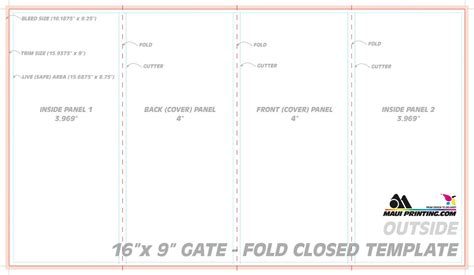 5x7 Folded Card Template Indesign by Gate Fold Brochure Template Indesign The Best Templates