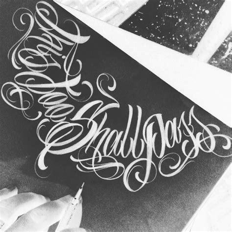 tattoo lettering calligraphy this too shall pass tattoo pinterest tattoo fonts