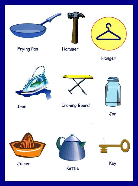 household items picture of household items cliparts co