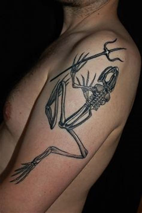 bone frog tattoo frog bone tribute to the history of the united