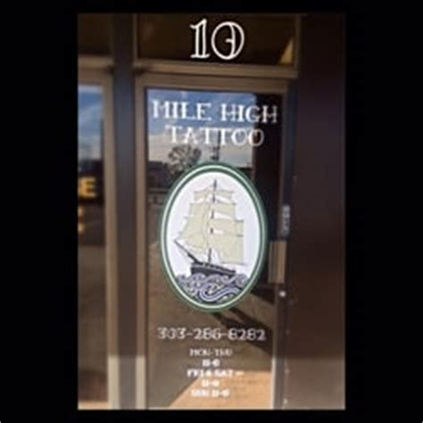 mile high tattoo mile high 15 photos 27 reviews piercing