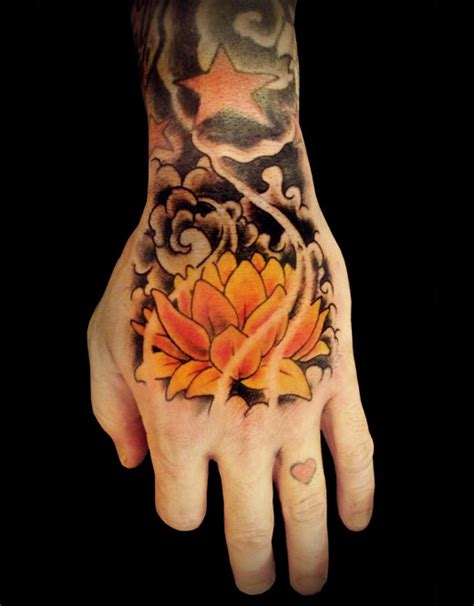 flower hand tattoo designs 48 lotus tattoos ideas for
