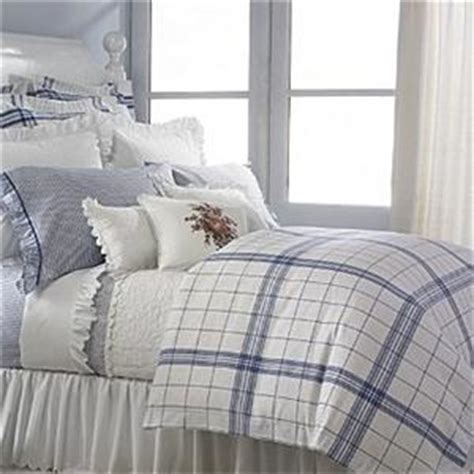 ralph lauren plaid bedding ralph lauren cottage hill blue white plaid queen comforter 11pc set new ebay