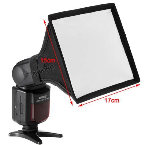 Speedlight Softbox aliexpress buy meking 17 15cm portable mini softbox for speedlight speedlite flash