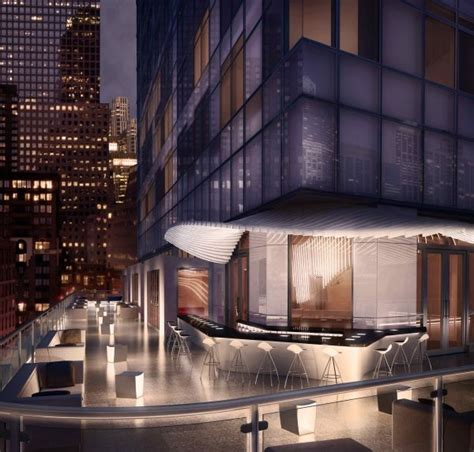 living room lounge nyc the w new york downtown opens