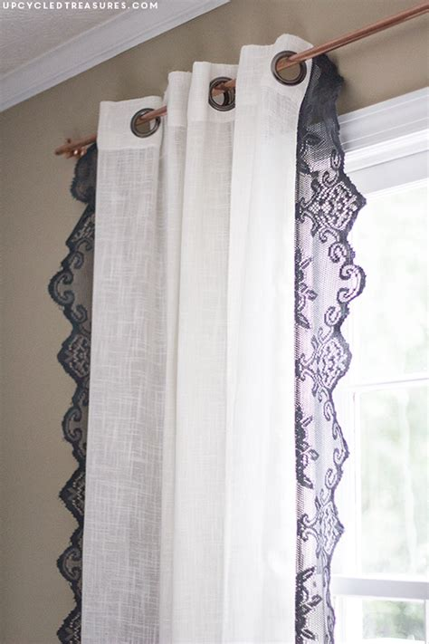 diy lace curtains diy lace curtains rustic modern lake house bathroom and