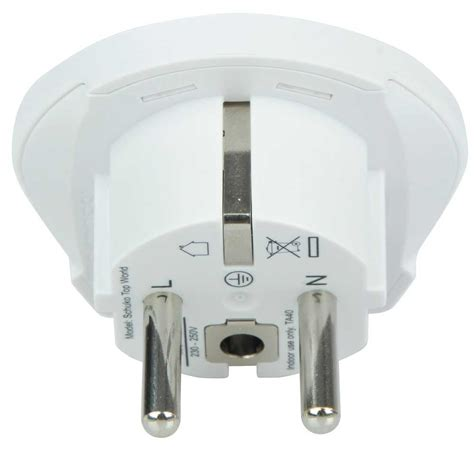 Terbaru Adaptor 14 Volt 1 2 Ere skross single adapter europe adaptere til rejsebrug bs cing og fritid