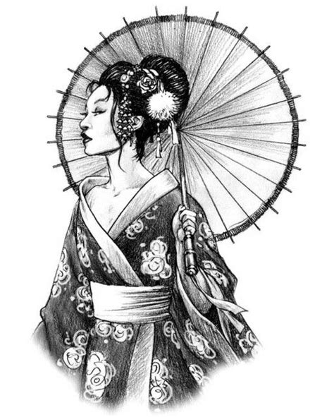 geisha tattoo stencil 25 best ideas about geisha tattoos on pinterest geisha