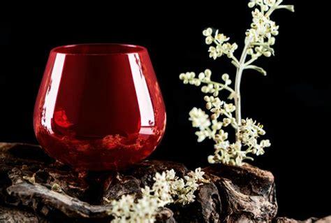 bicchieri degustazione olio approvato il colore rosso granato per il bicchiere da