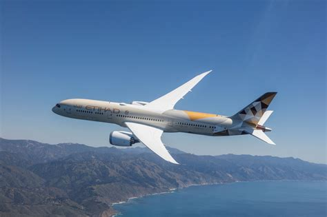 Etihad Airways etihad airways introduces next generation boeing 787