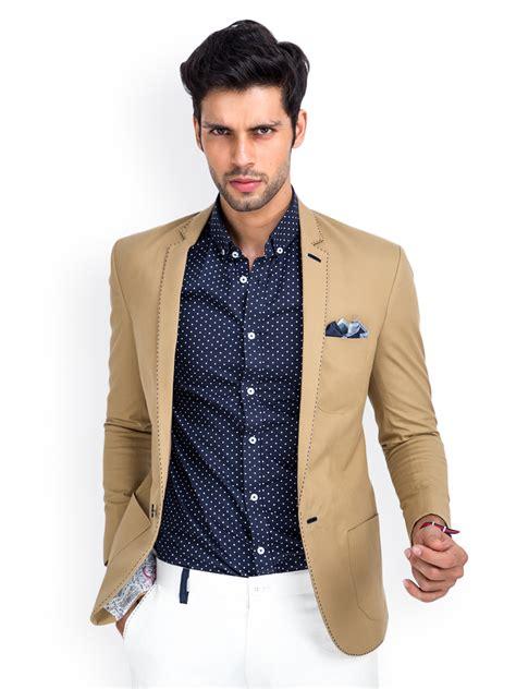 Online Home Decor India by Buy Mr Button Men Beige Blazer Blazers For Men Myntra