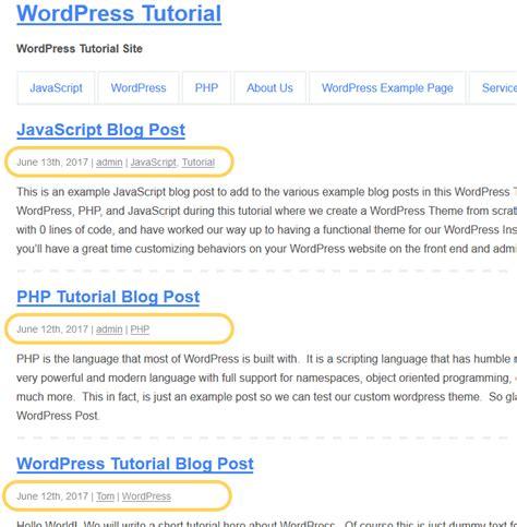 wordpress tutorial how to post how to add post meta in wordpress web development tutorials