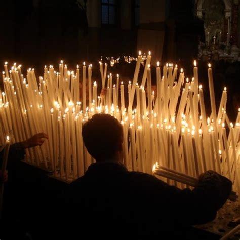 candela della candelora candelora a lume di candela