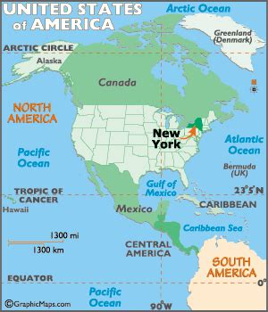 new york map / geography of new york/ map of new york