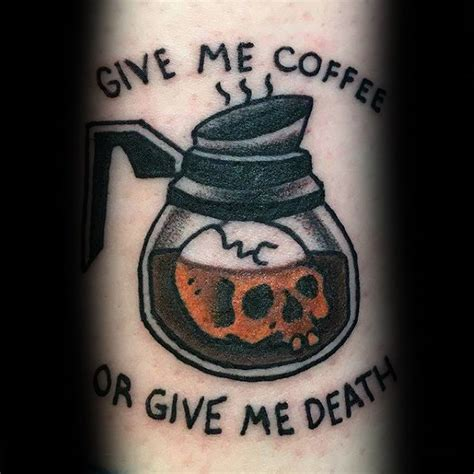 tattoo gallery cafe at java ink philadelphia 70 coffee tattoo designs for men caffeinated ink ideas