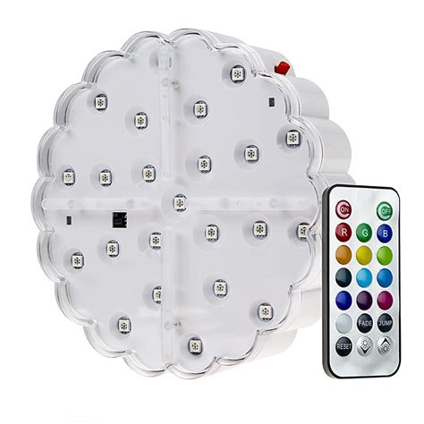battery powered led lights with remote led centerpiece light 6 quot rechargeable battery powered
