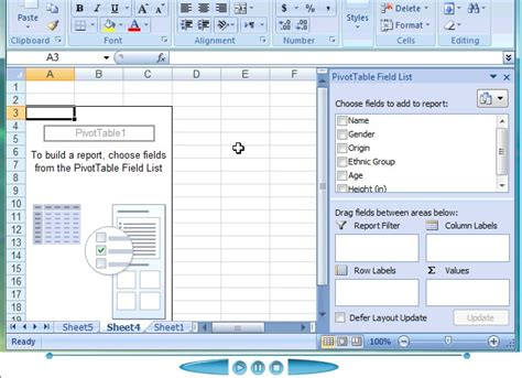 pivot table advanced tutorial intersecting two fields columns in a pivot table