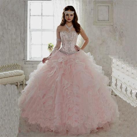 light pink quinceanera dresses quinceanera dresses light pink and white naf dresses