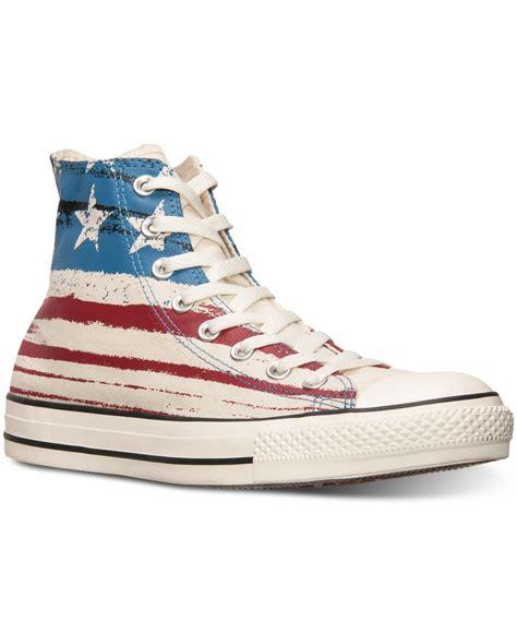 american flag sneakers converse s chuck high usa flag print casual