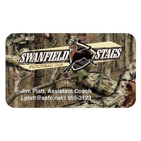 free business card templates with mossy oak mossy oak 174 bic 174 business card magnet promotional mossy