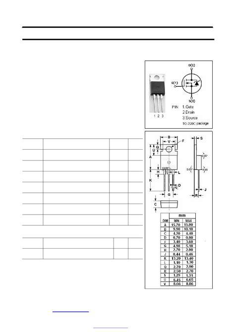 transistor mosfet canal n datasheet 12n18 datasheet n channel mosfet transistor