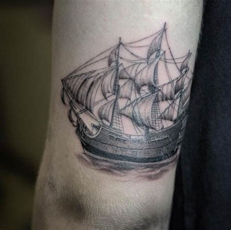 small ship tattoo designs 50 amazing ship tattoos you won t believe are real
