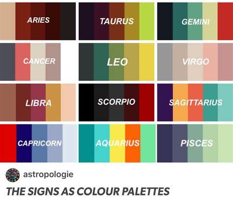 capricorn colors zodiac capricorn color palette