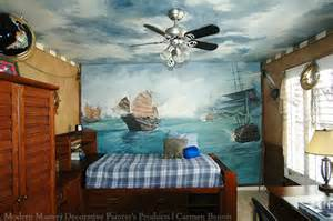 Nautical Wall Murals Boys Room Ideas Modern Masters Cafe Blog