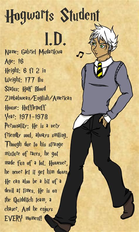 harry potter oc gabriel by se7enravish on deviantart