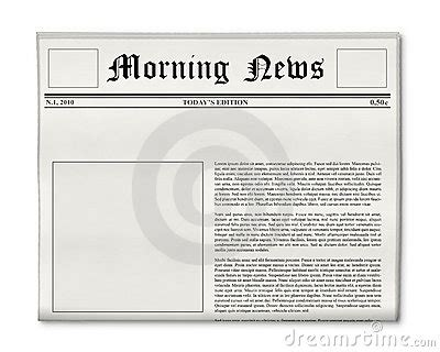 Empty Newspaper Template The Best Resume Free Newspaper Template Docs