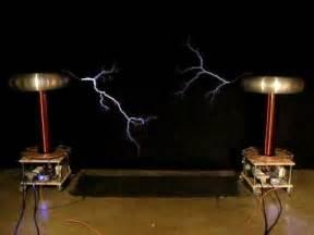 Tesla Coil Sound Dueling Banjos On Musical Tesla Coils