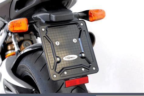 Katzenauge Motorrad by Motorrad Kennzeichenhalter Mit R 252 Ckstrahler Reflektor