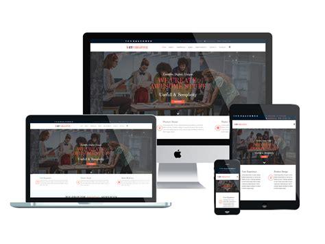 et creative free responsive creative joomla template