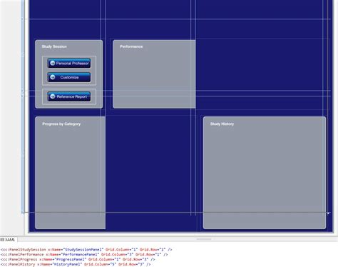 stack layout xaml wpf styles and grid layout issues stack overflow